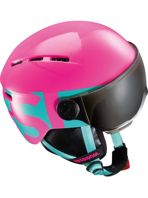 Rossignol Visor Helmet Junior Pink